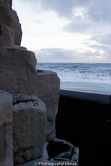 _MG_3117 (photography.lenaa) Tags: blacksandbeach beach stone black water sea ocean blue sun iceland