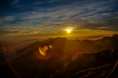 Sunset from Moro Rock, Sequoia National Park, CA (Suresh_Easwar) Tags: mororock sunset sequoia canon 1ds