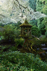 Wooden Pagoda (TheOtter) Tags: butchartgardens colorful flower flowers garden green moss pagoda
