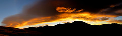 Sky Alight (im me) Tags: colorado hiking mountains sky clouds landscape panorama morning sunrise guanellapass mountbierstadt mountevans silhouette wavecloud