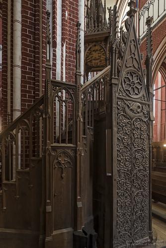 Doberaner Münster • Aufgang zur Kanzel