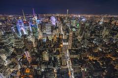 I love NY (johnnyarmaosphotography) Tags: new york newyork empirestatebuilding empirestate midtown manhattan nyc bigapple cityscape landscape nightphotography gotham