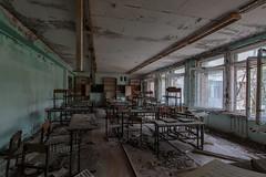 School's out (Andrew G Robertson) Tags: chernobyl school classroom abandoned urbex pripyat ukraine canon1124mm prypiat