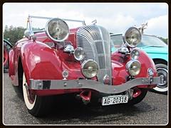 Triumph Dolomite Roadster, 1937-1940 (v8dub) Tags: triumph dolomite roadster 1937 1940 schweiz suisse switzerland british pkw voiture car wagen worldcars auto automobile automotive old oldtimer oldcar klassik classic collector