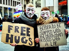 Better to be slapped with the truth than kissed with a lie.  #millionmaskmarch #anonymous #Brussels #freehugs #mask #guyfawkes #hartbovenhard #toutautrechose #protest #millionmaskmarch2016 #vforvendetta #bruxellesmabelle (Red Cathedral [FB theRealRedCathedral ]) Tags: instagramapp square squareformat iphoneography uploaded:by=instagram lofi millionmaskmarch anonymous brussels freehugs mask guyfawkes hartbovenhard toutautrechose protest millionmaskmarch2016 vforvendetta bruxellesmabelle