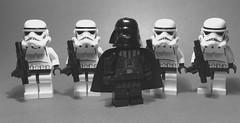 Vader's Fist (Supremedalekdunn) Tags: lego star wars darth vader stormtroopes 501st legion vaders fist galactic empire