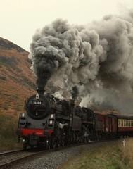 Clag (feroequineologist) Tags: 76084 76038 76079 steam railway train nymr northyorkshiremoorsrailway