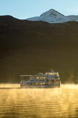 DSC01015 (adam_reynolds) Tags: scotland loche lomond sunrise mist steam evaporating