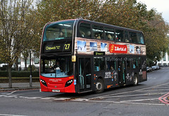 ADH38 YX62FMV (London United) Camden Town 10.11.16 (Rays Bus Photographs) Tags: ratp londonunited adh38 yx62fmv advertbus zillertal