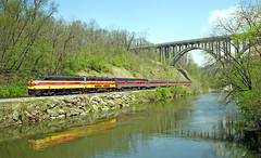 My First Image of an Icon (craigsanders429) Tags: cuyahogavalleyscenicrailroad cuyahogariver cuyahogavalleynationalrecreationarea cvsrtrains brecksvilleohio route82bridgeinbrecksvilleohio water rivers fpa4 cvsrfpa4no14 cvsrlocomotives cvsrmotivepower