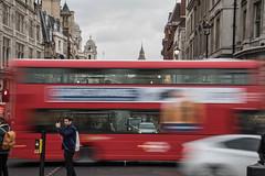 A bit of a blur (21mapple) Tags: london bigben bus