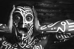Em (Ditwins) Tags: photo nikon d7000 portrait male tribal blackandwhite studio