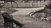 45 Degree (Vide Cor Meum Images) Tags: mac010665yahoocouk markcoleman markandrewcoleman videcormeumimages vide cor meum nikon d750 clapham common sleep rigid street candid mono park london england english sleeping 45 degrees asleep parks bw