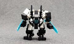 "AN600 ""Praetor"" (Deltassius) Tags: mfz mf0 scifi lego mech mecha robot frame space microscale war military"