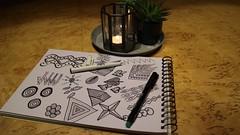 En stund med pennan och harmoni infinner sig snabbt i kroppen.  #FS161120 #harmoni #fotosondag (ulricalyhnakis) Tags: fs161120 harmoni fotosondag