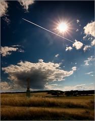 The Jesus cloud (piontrhouseselski) Tags: cz moravia rouchovany clouds sky sun field cross