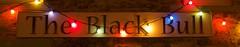 It's A Sign (ianwyliephoto) Tags: corbridge northumberland tynevalley tynedale christmas lights festive twinkly twinkle community blackbull pub restaurant greeneking