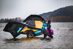 Intrepid (Zach Dischner) Tags: action epic fun kiteboarding oregon piercemartin sports storm wind intrepid adventure roadtrip rain windy cold