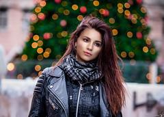 Something about Christmas time (Vagelis Pikoulas) Tags: christmas light lights canon 6d tamron 70200mm vc bokeh girl woman model basilica budapest hungary city november autumn 2016