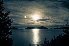 As the Light Fades (Katrina Wright) Tags: img8808 sunlight islands georgiastrait scenic seatoskyhighway bc iphone6