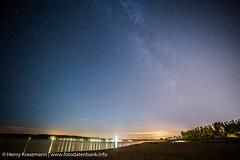 Sternenhimmel ber Falckensteiner Strand Kiel (caulius) Tags: strand kiel falkenstein schleswigholstein falckenstein perseiden sternschnuppen