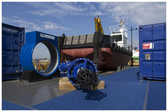DAMEN shiprepair (Harry -[ The Travel ]- Marmot) Tags: city blue urban holland industry netherlands dutch amsterdam boat ship nederland vessel stedelijk maritime sail nl shipyard mokum stad hollands stads stadsarchief amsterdamnoord scheepswerf hoofdstad capitalofthenetherlands maritimeindustry damenshiprepair capitalofholland olympusomdem5 sail2015 lumixgvario1235f28 allrightsreservedcontactmebyflickrmail