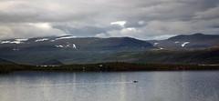 Tornetrsk boat 1 (Bilderschreiber) Tags: lake boot one see evening abend boat sweden schweden north skandinavien lonely scandinavia nord allein einzeln