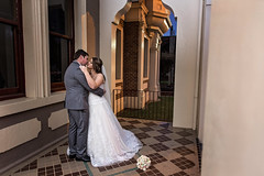 Leaning in for a kiss (Travis Lord | Lord Photography) Tags: groom bride hall marriage weddings toowoomba lordphotography