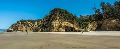 Hug Point - Cannon Beach (SonjaPetersonPh♡tography) Tags: ocean park seascape beach oregon landscape nikon rocks caves pacificocean oregoncoast cannonbeach rockformation thecape hugpoint oregoncoasttrail d5200 usstatepark nikonafsdx18140mmf3556edvr