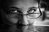 Nostalgie (Christine Lebrasseur) Tags: portrait people blackandwhite france eye art girl canon child fr gironde léane letaillanmédoc allrightsreservedchristinelebrasseur
