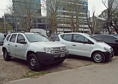 Vhc1 (VhCars1) Tags: white argentina 4x4 4wd renault mercedesbenz versus dacia mercedesbenzaclass clasea daciaduster renaultduster