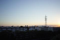 Hiyoshi, Yokohama, 2015 (snkmr) Tags: sky dawn