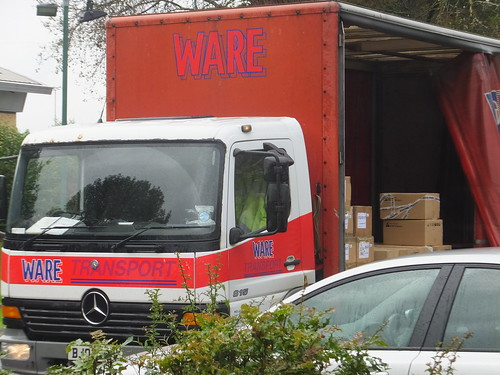 Ware delivers wares where?