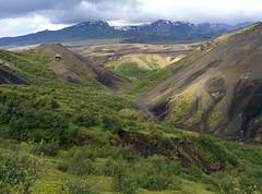Wanderung im Thorsmörk Langidalur, Laugavegur - Trekking auf Island