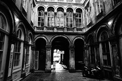 Unger-hz (Unger House) (elinor04 thanks for 25,000,000+ views!) Tags: city windows house building doors decay budapest arches courtyard inner architect passage decayed 1854 unger ybl yblmikls ungerhouse ungerhz
