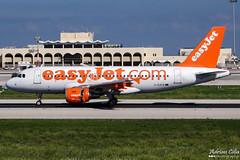 EasyJet --- Airbus A319 --- G-EZFR (Drinu C) Tags: plane aircraft aviation sony airbus dsc easyjet mla a319 lmml gezfr hx100v adrianciliaphotography