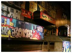 Amsterdam meets New York (Harry -[ The Travel ]- Marmot) Tags: city urban holland art netherlands dutch amsterdam train dark graffiti paint grafitti darkness metro kunst nederland spray stedelijk nl mokum stad hollands trein donker expositie stads tentoonstelling noord stadsarchief amsterdamnoord explored hoofdstad amsterdammuseum capitalofthenetherlands capitalofholland allrightsreservedcontactmebyflickrmail