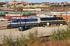 Carrying on (BravoDelta1999) Tags: dakotaminnesotaandeastern dme railroad canadianpacific cp rail milwaukeeroad milw railway muskego yard milwaukee wisconsin emd gp40 4001 4005