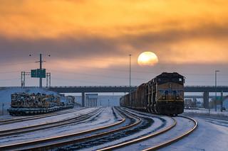 Sunset at Cheyenne