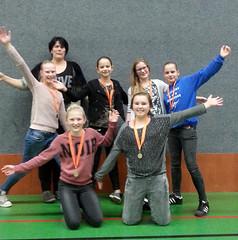 2015 dec. Mini N6.1, kampioen; Tr. Ina Wesselink, Hieke, Tess, Maud, Merle, Elise, Lieke