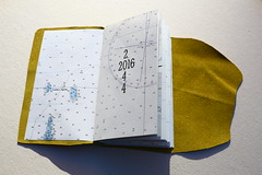 2016 Leap Year Datebook (purgatorypiepress-typographical illustrations) Tags: leather letterpress bookbinding woodtype datebook