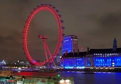IMGP7056 (mattbuck4950) Tags: england london water night boats europe december unitedkingdom londoneye rivers riverthames countyhall ferriswheels gbr 2015 citycruises cityofwestminster londonboroughoflambeth