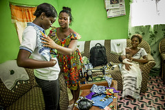 Ghana- June 2014 (mcspglobal) Tags: ghana woman breastfeeding baby