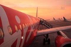 IMG_2815 (suryahardhiyana) Tags: sunrise airport airasia juanda