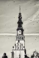 The Prayer... (Magiccphoto) Tags: city light bw white black art architecture clouds digita