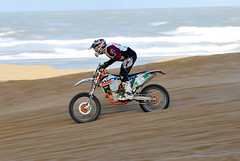 Red Bull Knock Out 2015 (vanderven.patrick) Tags: red sea beach strand out sand nikon cross offroad outdoor scheveningen sigma zee bull panning motocross knock motorcross zand d60 2015 150500