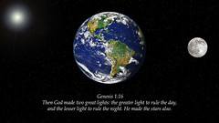 Genesis 1:16 (ChristianArtist) Tags: saved usa love church angel wonderful found lost hope heaven peace god sleep dove awesome faith unitedstatesofamerica prayer pray jesus christian holy glorious angels bible creator spiritual eternity salvation amen archangel scripture repent sinner humble judgment almighty courage confess jesuschrist omnipotent repentance holybible hallelujah righteous warfare godislove holyspirit thirdheaven wordofgod judgmentday kingofkings whitedove princeofpeace glorify armorofgod praisegod alphaandomega wordbecameflesh godthefather bestrong thelordismyshepherd godthecreator humbleyourself christthecreator aliveforevermore christwhostrengthensme