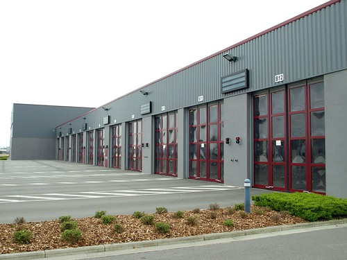 Складчасті швидкісні ворота SFT Efaflex, аварійно-рятувальна служба аеропорту