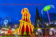 christmas (Mike Clark 100) Tags: christmas winter scotland edinburgh wonderland mikeclark