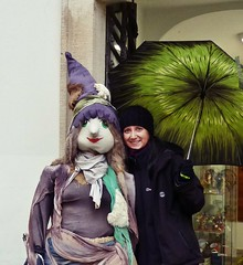 Witch meets the Witch (Lady Valkyrie) Tags: project365 pad prague praha witch umbrela
